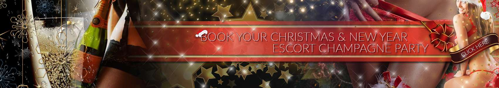 Book your christmas & new year escort champagne party