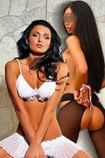 Tina and Dominica escort